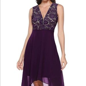 NWT, Lace& Chiffon cocktail dress Size XXXL